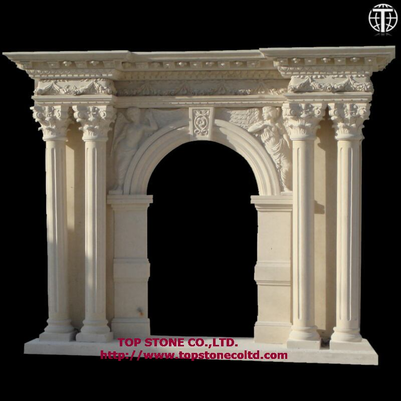 Stone Fireplace Mantel - China Professional Stone Products Supplier